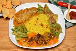 Indische rijsttafel
